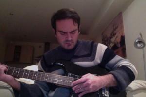 ian on guitar